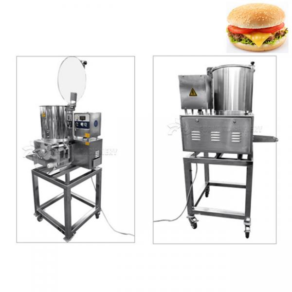 Meat Cutlet Food Processing Machinery Chicken Burger Patty Maker