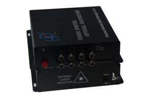 China FC/SC/ST Digital Video Optical Transmitter 8CH , Receiver For Transportation System on sale