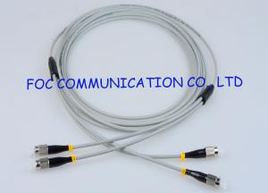 China Zipcord Armored Optical Fiber Patch Cables Multimode FC Anti rodent on sale
