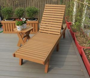 Quality Ps Plastic Wood Outdoor Furniture With Splitting Flaking Warping Rot Mold