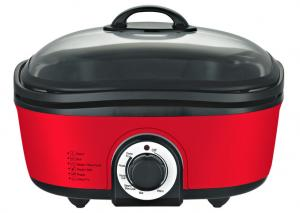 China Multi-cooker EMMFC01, 12  in 1 Multi cooker, 5L non-stick coating tank, glass cover, Removable container on sale