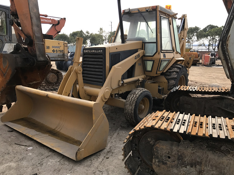 Caterpillar 416C Used Backhoe Loader CAT 3054 Engine 78HP Well