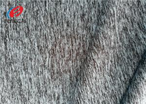 China Weft Knit  Fabric , Eco - Friendly Single Jersey Fabric For Sportswear on sale