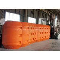 China plastic dredging hdpe pipe marine floaters on sale
