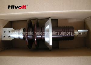 China 24kV 1500A High Voltage Transformer Bushings With Tin Live Parts Coating on sale