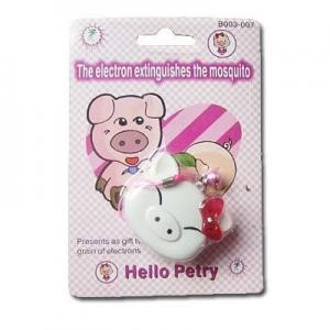 China Cute pig ultrasonic mosquito repellent on sale