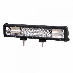 China High Intensity Strobe Led Light Bar , Universal Amber Strobe Lights 15 Inch 216W on sale