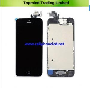 China Mobile phone spare parts LCD Screen for iPhone 5 LCD Digitizer Assembly on sale