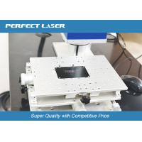 China Air Cooling CNC Laser Marking Equipment With High Etching Depth , 1 Year Warranty on sale