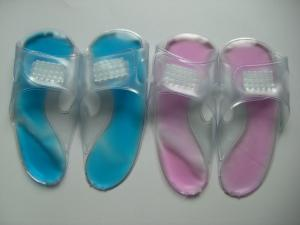 China hot cold pack pvc slipper men with SGS MSDS on sale
