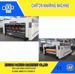 High Precision Carton Making Machine / Paper Die Cutting Machines , 2800mm Inboard Width