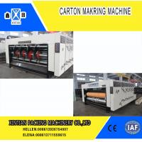 Paper Industrial Die Cutting Machine With Multi Color Water Ink , Fully Automatically