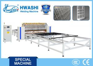 China Automatic Wire Fence / Wire Mesh Shelving Spot Welding Machine for 3mx3m Mesh on sale
