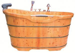 China new 2014 wooden barrel bath tub/wooden bath barrel/foot bath barrel on sale