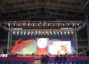 China 16 Bit Processing Outdoor Advertising LED Display With IP65 Aluminum Led Cabinet on sale