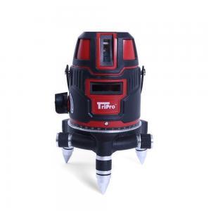 China Red light ±1mm/6m Levelling 4V1H 20*14*24cm Laser Plumb Level Measuring distance 200m on sale