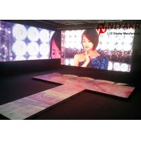 China Portable Club Event P4.81 LED Dance Floor Display Screen Full Color on sale