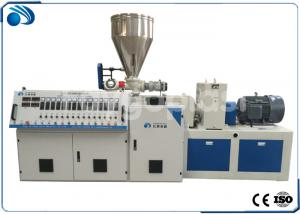 China Double Screw PVC Plastic Pipe Manufacturing Machine , Plastic Sheet Extrusion Machine on sale
