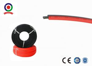 China Excellent Flexibility Solar Cable 4mm2 6.0mm OD Stable Electrical Properties on sale