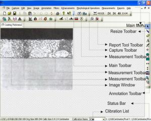 China Easy Operation Metallographic Image Analysis Software MetaVision for Metallurgical Microscopes on sale