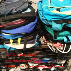 China Second Hand Bags Stylish Design Ladies Used Handbags School Bags 80 Kg/Bale on sale