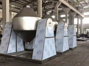 China Rotary Double Cone Powder Mixer Machine 250 L Capcity 1.5 Kw Power Low Noise on sale