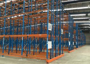 China Double deep pallet racking storage shelving steel rack for sale on sale