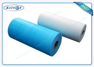 China Custom Width One - Time Use Non Woven Bed sheet / Bed Cover For Europe on sale