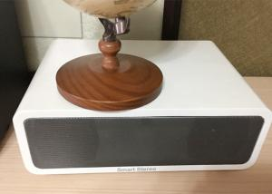 China Fantastic Sound Wooden Stereo Speakers Portable Desktop Speakers Bluetooth on sale