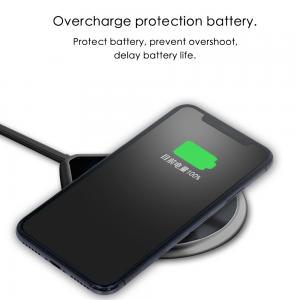 China WIRELESS CHARGER PAD smart wireless fast charger for both Android and IOS New design 2018 hot sale on sale