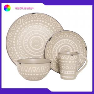 China Nordic Dinner Ceramic Pottery Dinnerware Sets Mugs Sala Bowl Eco - Friendly on sale