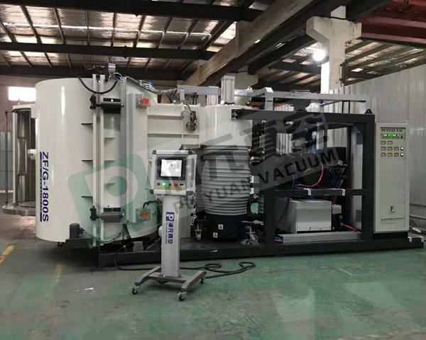 Auto parts PVD vacuum metalizing machine/automobile vacuum