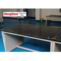 Simple Structure Black Phenolic Bench Tops Laboratory Parts High Temperature Resistant