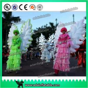 China Beautiful Festival Holiday Event Parade Walking Inflatable Wing Costume Customized supplier