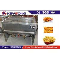 Manual Small Industrial Deep Fryer , Peanuts / Chick Commercial Electric Deep Fryer