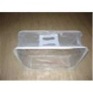 China Girls clear Transparent plastic cosmetic bag on sale