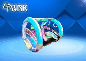 China Remote Control Rocking Happy Car / Small Amusement Park Rides Le Bar Car 9s on sale