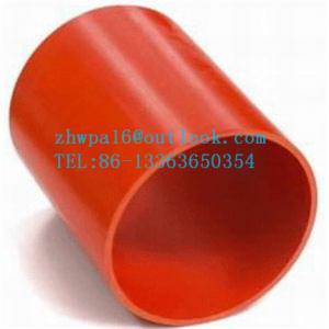 China PVC cable protection pipe on sale