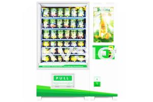 China Vegetables / Fruit Automatic Vending Machine With Infrared Touch Screen / Elevator on sale