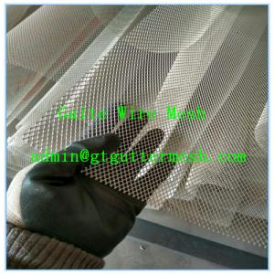 China Aluminium Gutter Guard Mesh on sale