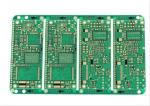 FR-4 Green Aluminum Automotive PCB GPS 1oz Copper Electronic Pcb Assembly