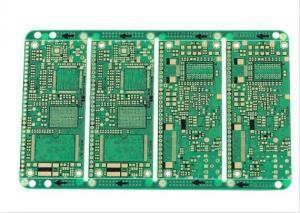 Quality FR-4はアルミニウム自動車PCB GPS 1oz銅の電子PCBアセンブリを緑化します for sale