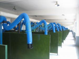 Wall Mounted Fume Extraction Arms For Dust Collection