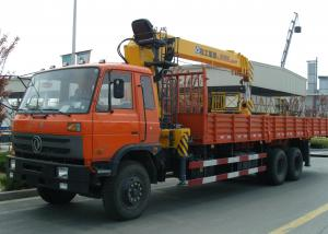 China Effective XCMG 10T Commercial Truck Loader Crane,Driven By Hydraulic with Longer Arms on sale