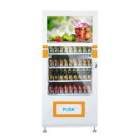 China Combo Smart Vending Machines Food & drinhik vending machine for sale,face masks vending machine,32inches vending machine on sale