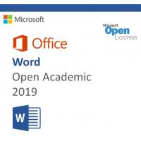 MS-O-W-OA-2019 Microsoft Office 2019 Product Key , Microsoft Word 2019 Open Academic