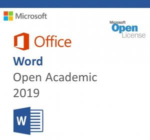 China MS-O-W-OA-2019 Microsoft Office 2019 Product Key , Microsoft Word 2019 Open Academic on sale