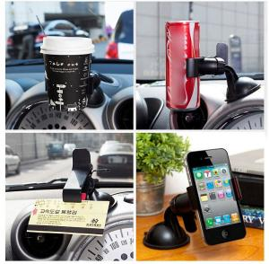 China 360° Rotating Desktop Phone Holder Stand Bracket For IPhones Powerful Suction on sale