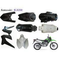China Kawasaki Klx250 Plastic Motorcycle Kits , Motorcycle Body Cover ABS Plastic Material on sale