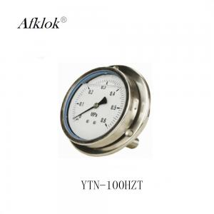 China Differential Pressure Gauge With Manometer , Axis Propane Gas Pressure Gauge on sale